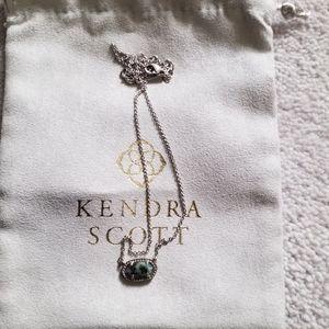 Kendra scott Ever silver necklace